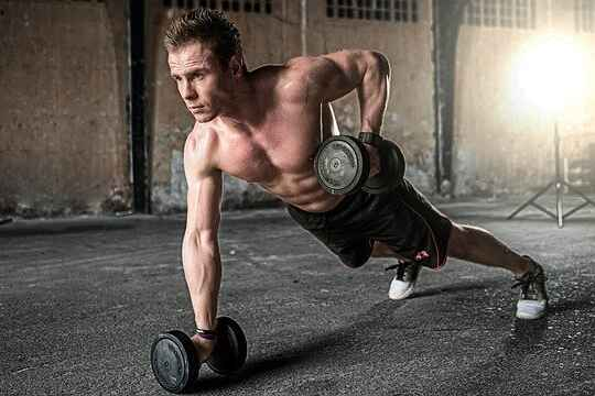 gym workout routine for men